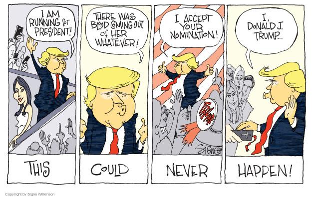 Signe Wilkinson  Signe Wilkinson's Editorial Cartoons 2016-07-24 2016 Republican convention