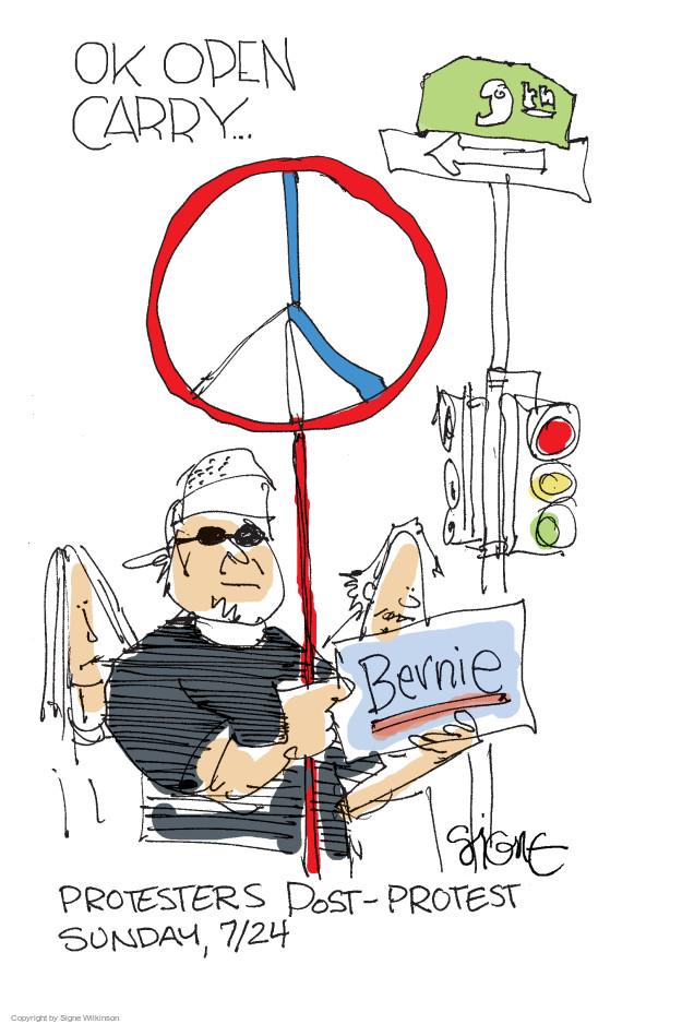 Signe Wilkinson  Signe Wilkinson's Editorial Cartoons 2016-07-28 democratic convention