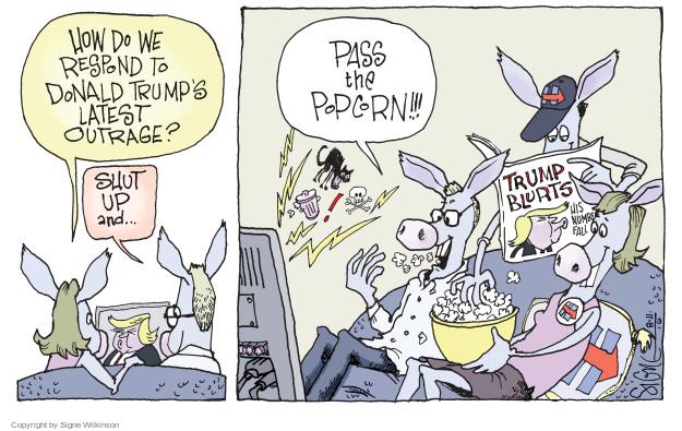 Cartoonist Signe Wilkinson  Signe Wilkinson's Editorial Cartoons 2016-08-11 civil liberty