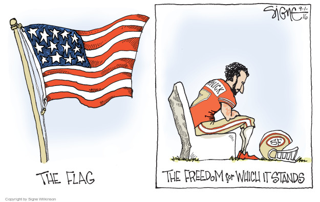 Signe Wilkinson  Signe Wilkinson's Editorial Cartoons 2016-09-01 game
