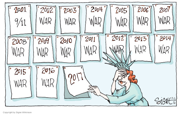 Signe Wilkinson  Signe Wilkinson's Editorial Cartoons 2016-09-11 2014