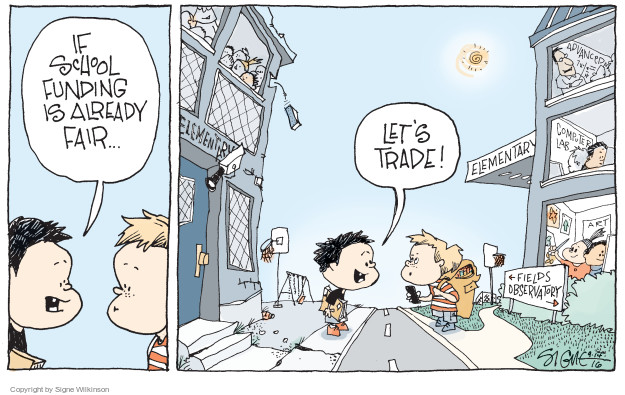 Cartoonist Signe Wilkinson  Signe Wilkinson's Editorial Cartoons 2016-09-14 editorial