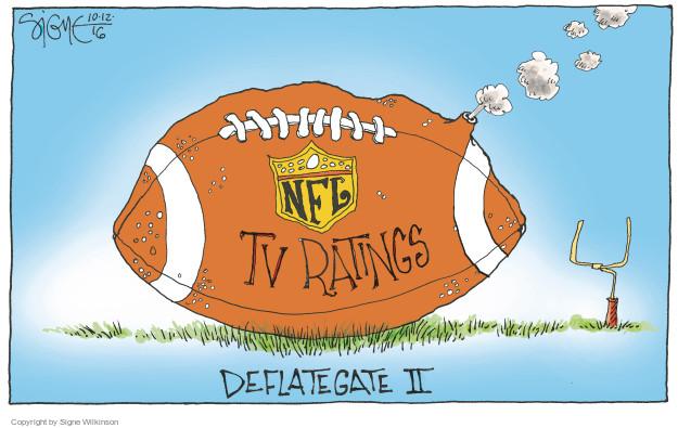 NFL. TV ratings. Deflategate II.