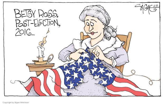 Betsy Ross, post-election, 2016 …