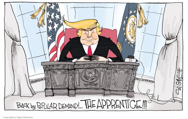 Back by popular demand! … The Apprentice!!!