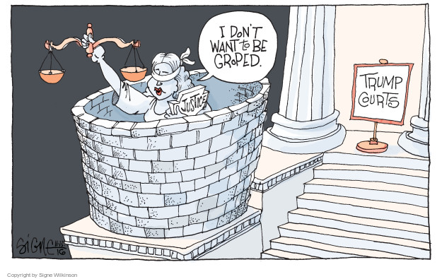 Signe Wilkinson  Signe Wilkinson's Editorial Cartoons 2016-11-12 supreme court justice