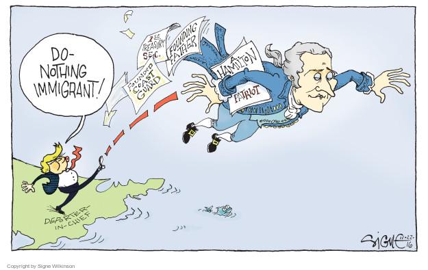 Signe Wilkinson  Signe Wilkinson's Editorial Cartoons 2016-11-22 immigration