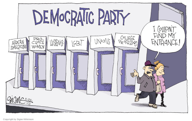 Signe Wilkinson  Signe Wilkinson's Editorial Cartoons 2016-12-04 union