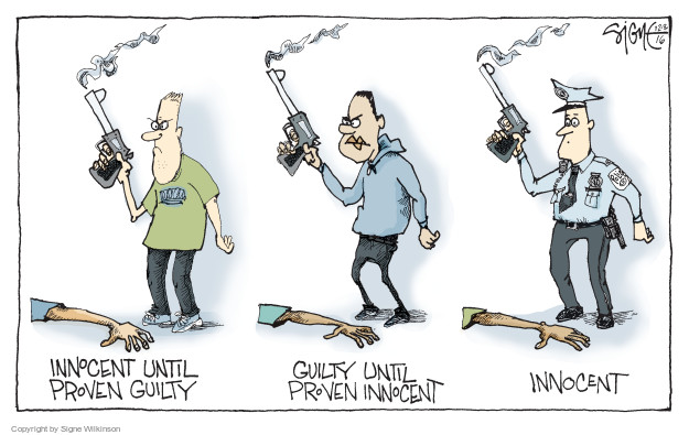 Signe Wilkinson  Signe Wilkinson's Editorial Cartoons 2016-12-08 judicial branch