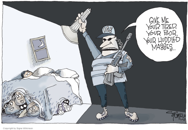 Signe Wilkinson  Signe Wilkinson's Editorial Cartoons 2017-02-23 ice