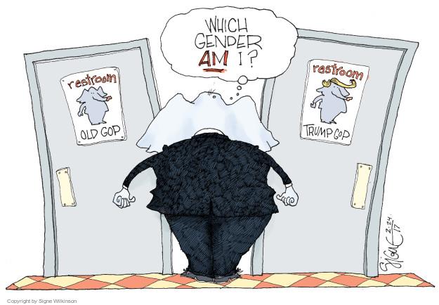 Signe Wilkinson  Signe Wilkinson's Editorial Cartoons 2017-02-24 GOP