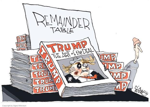 Signe Wilkinson  Signe Wilkinson's Editorial Cartoons 2017-03-27 Obamacare