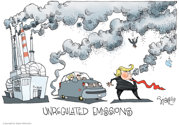 Signe Wilkinson  Signe Wilkinson's Editorial Cartoons 2017-03-30 social media