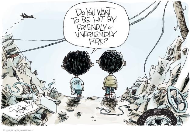 Signe Wilkinson  Signe Wilkinson's Editorial Cartoons 2017-04-14 international relations