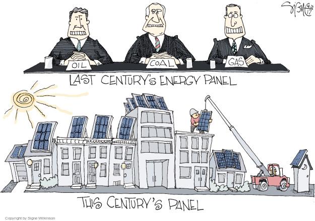 Signe Wilkinson  Signe Wilkinson's Editorial Cartoons 2017-04-27 energy