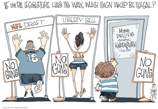 Cartoonist Signe Wilkinson  Signe Wilkinson's Editorial Cartoons 2017-04-29 NFL