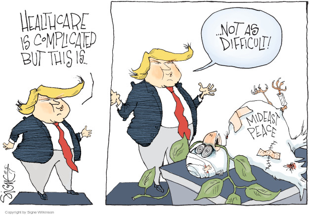 Cartoonist Signe Wilkinson  Signe Wilkinson's Editorial Cartoons 2017-05-06 health care reform