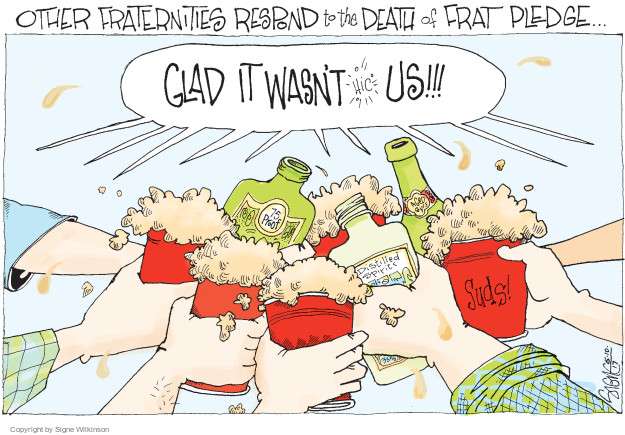 Cartoonist Signe Wilkinson  Signe Wilkinson's Editorial Cartoons 2017-05-10 Pennsylvania