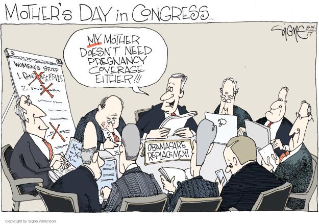 Signe Wilkinson  Signe Wilkinson's Editorial Cartoons 2017-05-14 Obamacare