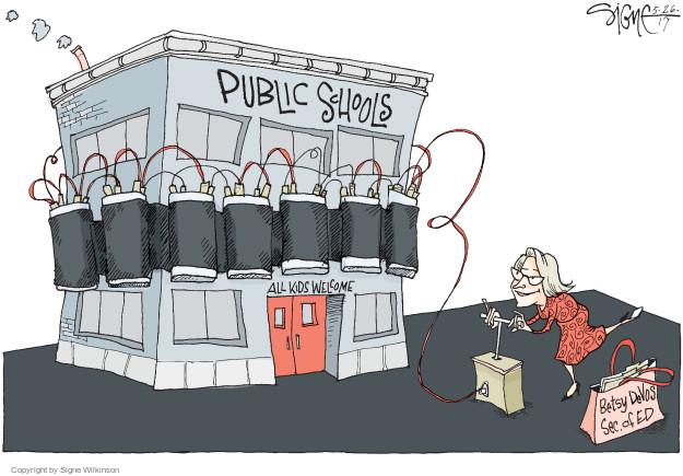 Signe Wilkinson  Signe Wilkinson's Editorial Cartoons 2017-05-26 secretary
