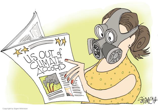 Signe Wilkinson  Signe Wilkinson's Editorial Cartoons 2017-06-02 mask
