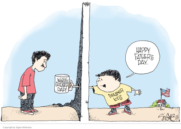 Signe Wilkinson  Signe Wilkinson's Editorial Cartoons 2017-06-18 family separation