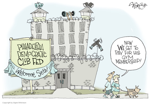 Signe Wilkinson  Signe Wilkinson's Editorial Cartoons 2017-07-01 democratic party