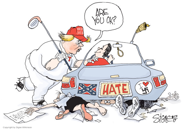 Signe Wilkinson  Signe Wilkinson's Editorial Cartoons 2017-08-17 heart