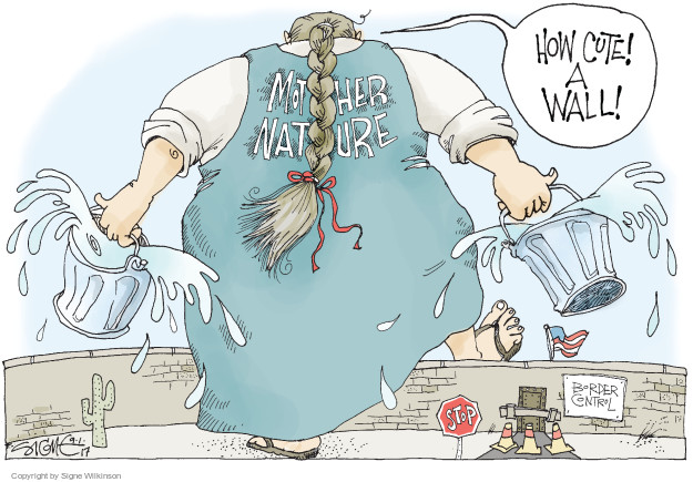 Signe Wilkinson  Signe Wilkinson's Editorial Cartoons 2017-09-01 emergency
