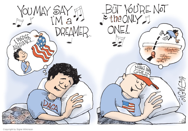 Signe Wilkinson  Signe Wilkinson's Editorial Cartoons 2017-09-17 Barack Obama