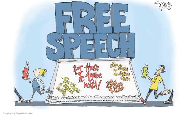 Cartoonist Signe Wilkinson  Signe Wilkinson's Editorial Cartoons 2017-09-21 editorial