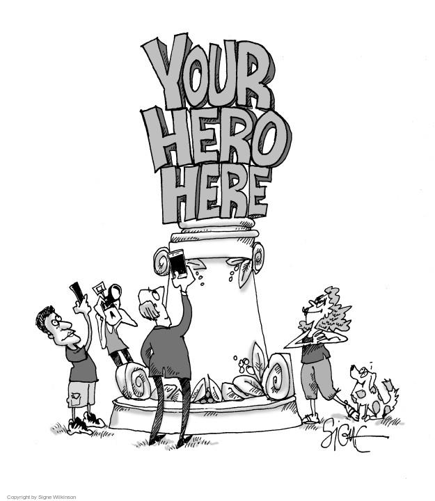 Cartoonist Signe Wilkinson  Signe Wilkinson's Editorial Cartoons 2017-09-26 editorial