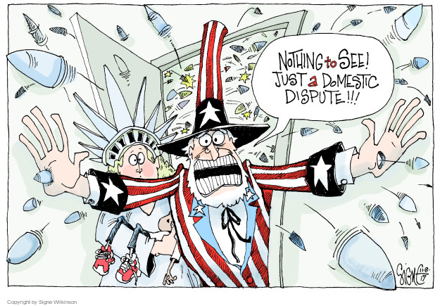 Cartoonist Signe Wilkinson  Signe Wilkinson's Editorial Cartoons 2017-11-08 ammo