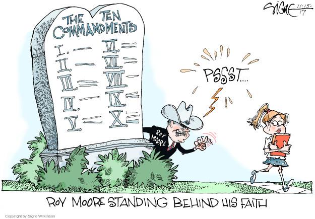Cartoonist Signe Wilkinson  Signe Wilkinson's Editorial Cartoons 2017-11-15 state election