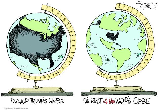 Signe Wilkinson  Signe Wilkinson's Editorial Cartoons 2017-11-17 global
