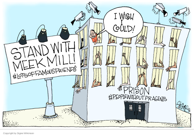 Cartoonist Signe Wilkinson  Signe Wilkinson's Editorial Cartoons 2017-11-22 injustice