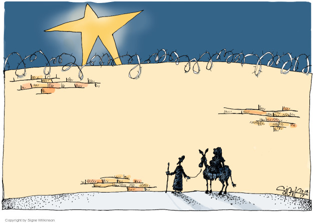 Signe Wilkinson  Signe Wilkinson's Editorial Cartoons 2017-12-19 holiday
