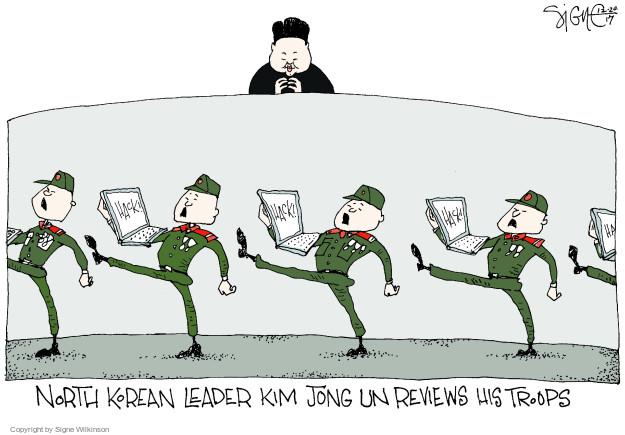Cartoonist Signe Wilkinson  Signe Wilkinson's Editorial Cartoons 2017-12-20 cyber