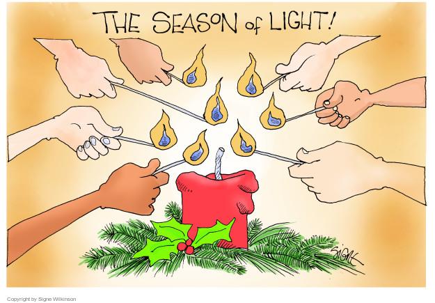 Signe Wilkinson  Signe Wilkinson's Editorial Cartoons 2017-12-22 holiday