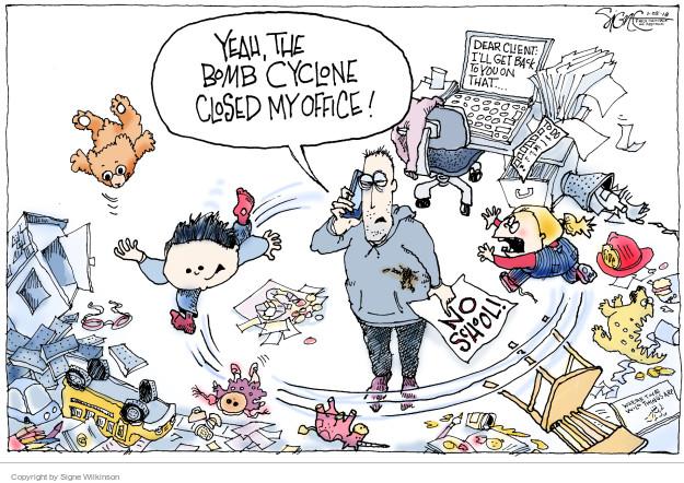 Signe Wilkinson  Signe Wilkinson's Editorial Cartoons 2018-01-05 work