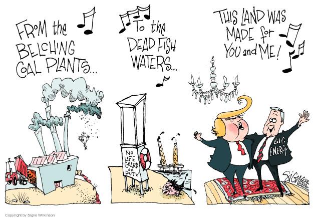 Signe Wilkinson  Signe Wilkinson's Editorial Cartoons 2018-01-07 land