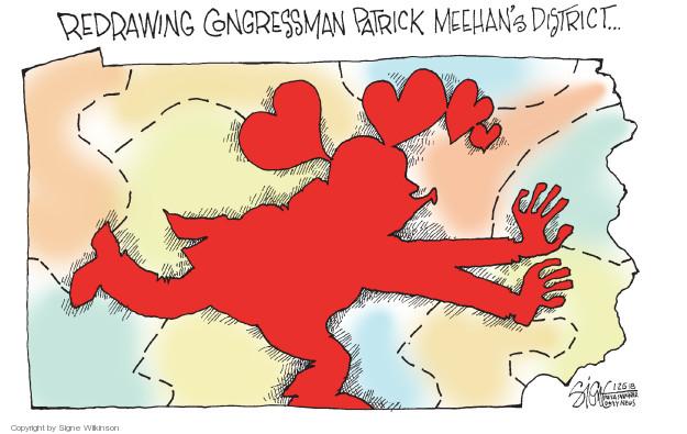 Signe Wilkinson  Signe Wilkinson's Editorial Cartoons 2018-01-25 congressman