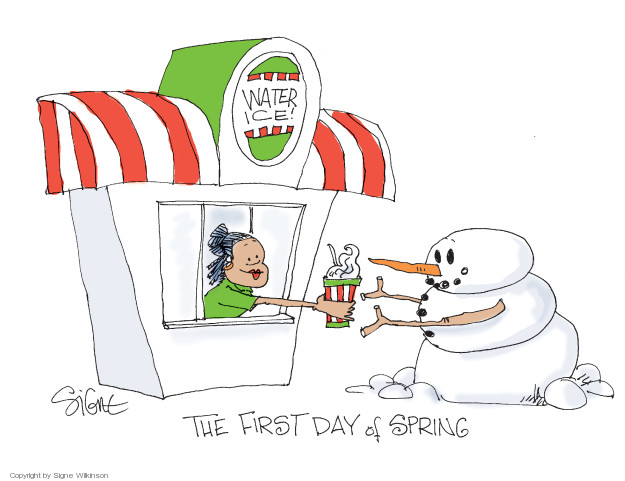 Signe Wilkinson  Signe Wilkinson's Editorial Cartoons 2018-03-23 water