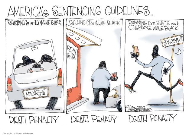 Cartoonist Signe Wilkinson  Signe Wilkinson's Editorial Cartoons 2018-03-29 gun rights