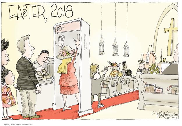 Signe Wilkinson  Signe Wilkinson's Editorial Cartoons 2018-04-01 mass shooting