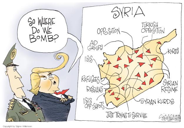 Signe Wilkinson  Signe Wilkinson's Editorial Cartoons 2018-04-16 presidential administration