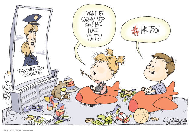 Signe Wilkinson  Signe Wilkinson's Editorial Cartoons 2018-04-19 equality