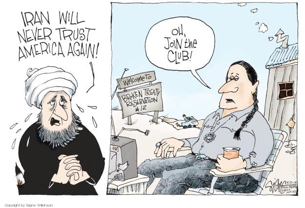 Signe Wilkinson  Signe Wilkinson's Editorial Cartoons 2018-05-10 political leader
