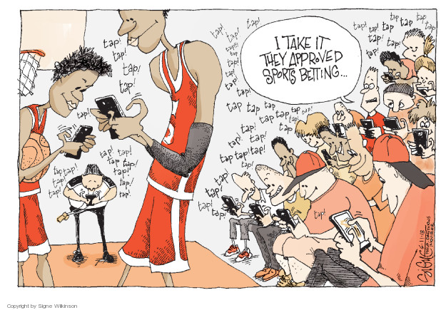 Cartoonist Signe Wilkinson  Signe Wilkinson's Editorial Cartoons 2018-06-11 athlete