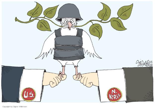 Signe Wilkinson  Signe Wilkinson's Editorial Cartoons 2018-06-13 political leader
